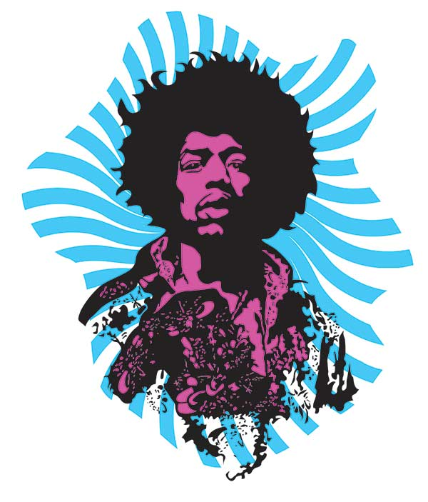 Music t-shirts for men and women, Jimi Hendrix T-shirt for men and women, festival t-shirts