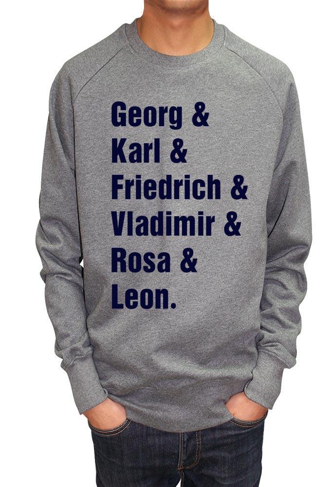 Karl Amp Lenin Amp Leon Sweatshirt Savage London