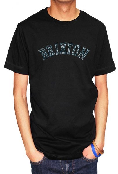 Brixton T-shirt Diamante, Men's T-shirt, Women's T-shirt, T-shirt UK, T-shirt London, Savage London.