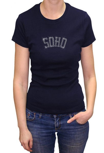 Soho T-shirt Metal Nail Heads, Men's T-shirt, Women's T-shirt, T-shirt UK, T-shirt London, Savage London.