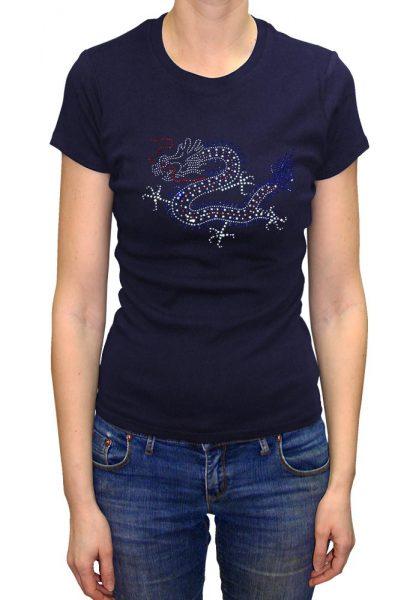 Dragon T-shirt Diamante, Men's T-shirt, Women's T-shirt, T-shirt UK, T-shirt London, Savage London.