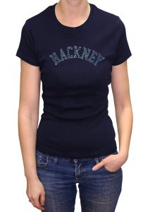 Hackney T-shirt Diamante, Men's T-shirt, Women's T-shirt, T-shirt UK, T-shirt London, Savage London.