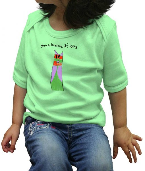 savage_london_im_so_hansome_children_t_shirt