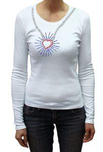 Love Burst T-shirt Diamante, Men's T-shirt, Women's T-shirt, T-shirt UK, T-shirt London, Savage London.