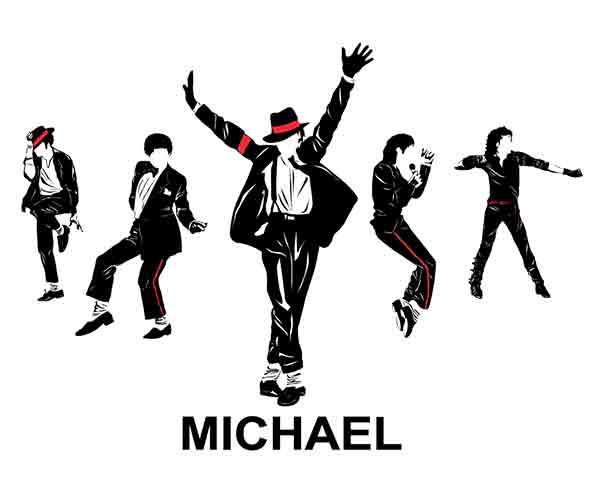 Music T-shirts for men and women, Michael Jackson t-shirt for men and women