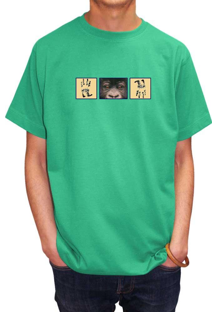 Pixel T Shirt Design | Pixel Gorilla T Shirts Savage London