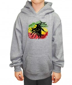 Bob Marley Kids Hoodie for Boys and Girls. Free UK Delivery.
