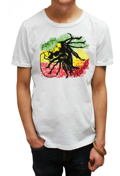 Bob Marley T-shirt for Men and Women. Long Sleeve T-shirt. Free UK Delivery.
