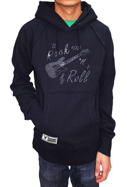 Rock N Roll T-shirt Diamante, Men's T-shirt, Women's T-shirt, T-shirt UK, T-shirt London, Savage London.