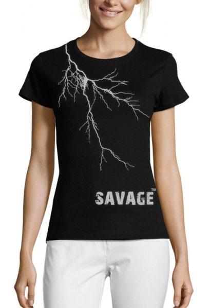 savage-lightning-t-shirt-womens-london-t-shirt-printing-1