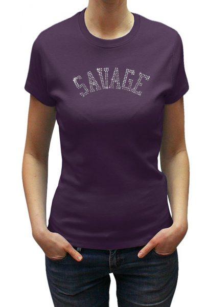 Savage T-shirt Diamante, Men's T-shirt, Women's T-shirt, T-shirt UK, T-shirt London, Savage London.
