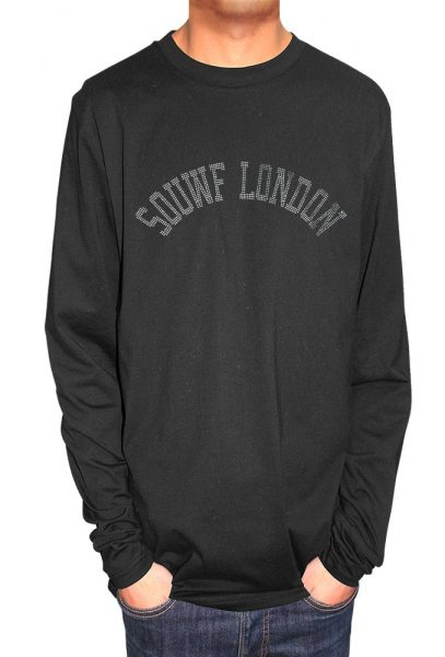 Souwf (South) London T-shirt Metal Nail Heads, Men's T-shirt, Women's T-shirt, T-shirt UK, T-shirt London, Savage London.
