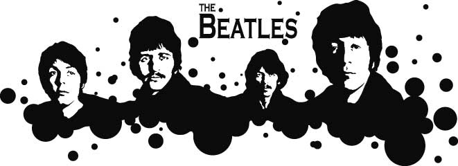 T-shirt Beatles for Men and Women