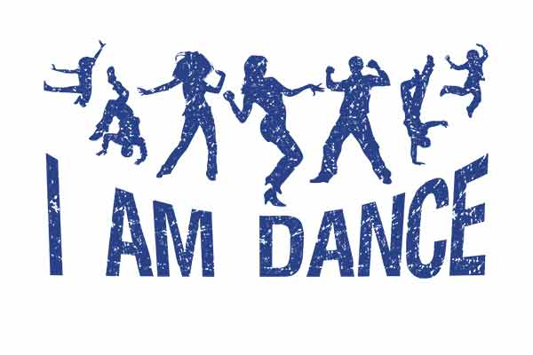 I am dance music t-shirt for men and women