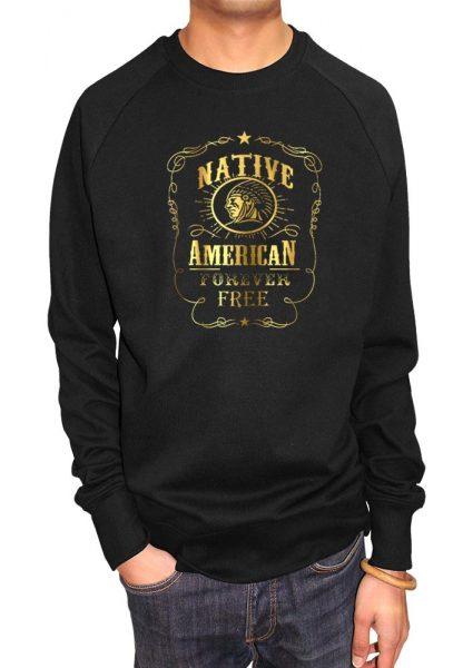 native-americans-natives-are-free-t-shirt-hoodie-foil-print-t-shirt-uk-london-men-s-t-shirt-women-s-t-shirt-savage-london