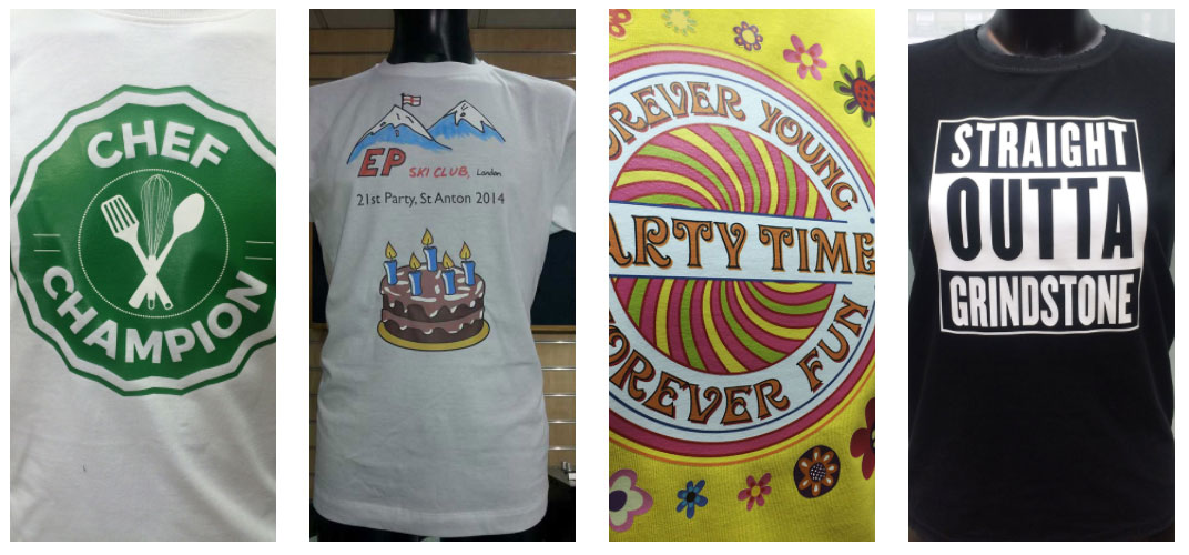 T-shirt Printing London UK, High Quality Printing, Customer Service, Same day T-shirt Printing.