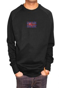 Union Jack T-shirt Diamante, Men's T-shirt, Women's T-shirt, T-shirt UK, T-shirt London, Savage London.
