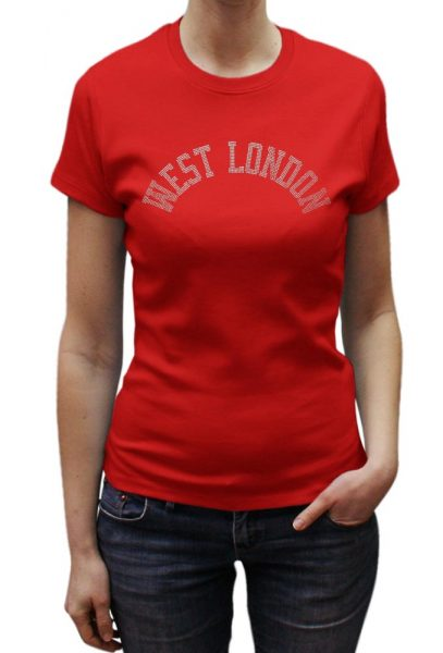 West London T-shirt Metal Nail Heads, Men's T-shirt, Women's T-shirt, T-shirt UK, T-shirt London, Savage London.